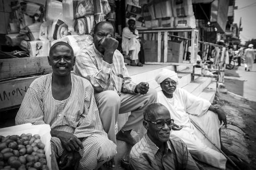 The Bushmen and thier burnooses
