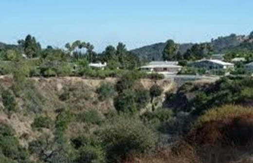 Canyon location where the body of Jane Doe #59 was found.