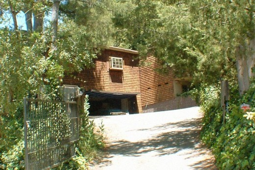 Manson victims Abigail Folger and Wojciech Frykowski home off Mulholland Drive.