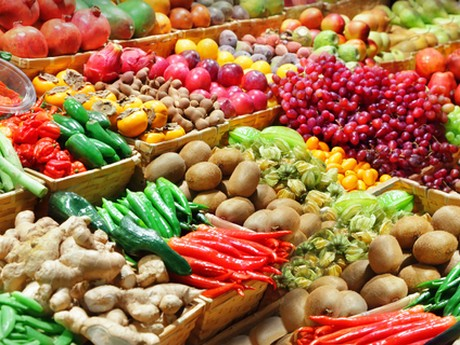 A diet rich in fruit and vegetables