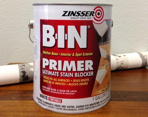 Zinsser BIN Primer Review | Dengarden