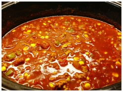 Ground Beef Chilli