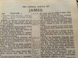 Lessons in Righteousness From the Book of James