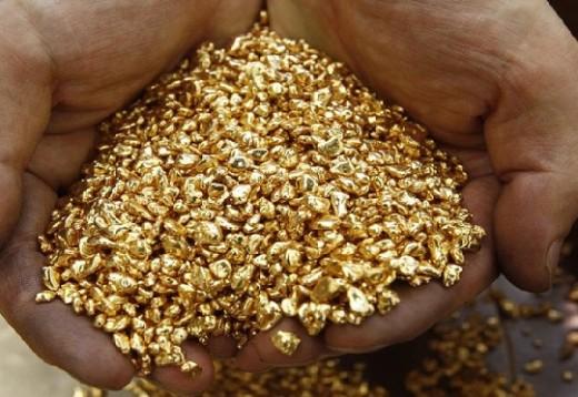 Eastern gold Congo