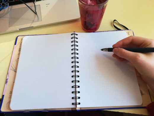 I appreciated the blank pages to let me be creative ;)