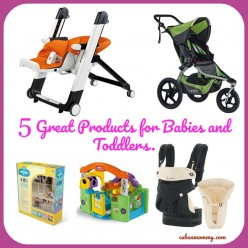 5 Good Products for Babies and Toddlers