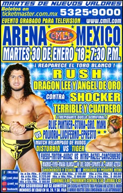 CMLL Tuesday: Back to Normal