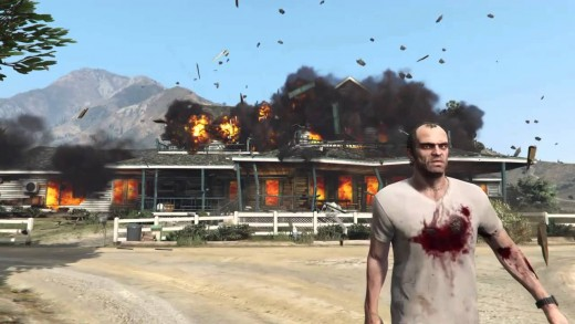 Still from Grand Theft Auto V