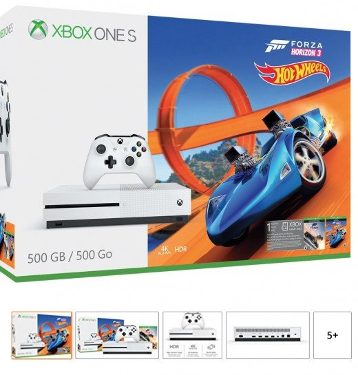 Xbox one S bundled with Forza Horizon 3