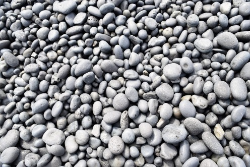 Add pebbles you find at the beach to the bottom of your vase.