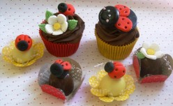 Cutest Ladybug Cupcakes & Cakes