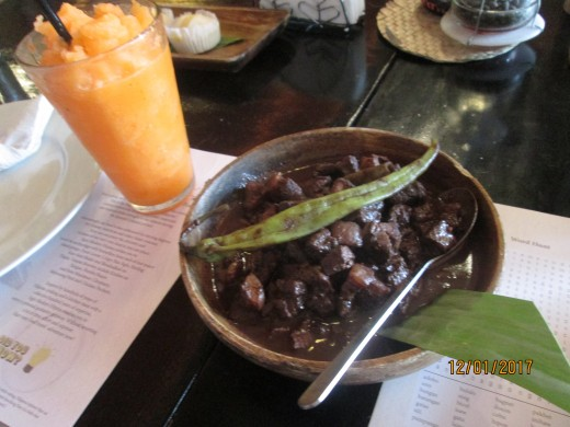 Dinuguan, an uncommon meal tastefully done