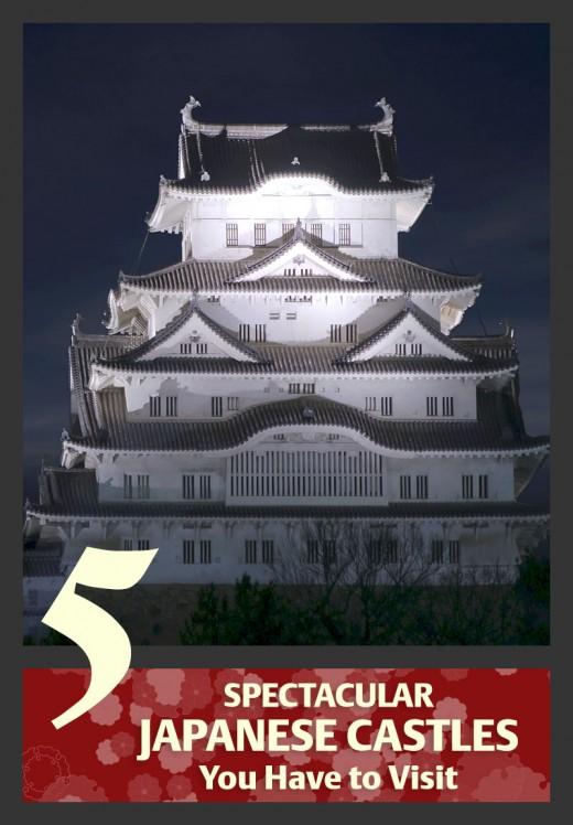 Japanese castles. A symbol of medieval Japan.