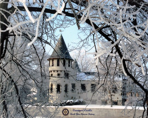 The Castle in winter