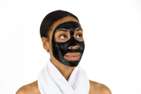 Put a face mask on next.
