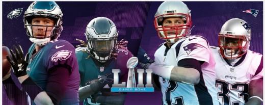 Super Sunday: Patriots v Eagkles