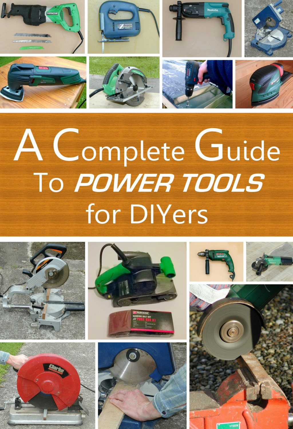 A Complete Beginners Guide To Power Tools Drills Sanders Electric Drill Motor Wiring Diagram Grinders Multitools Dremels Saws Dengarden