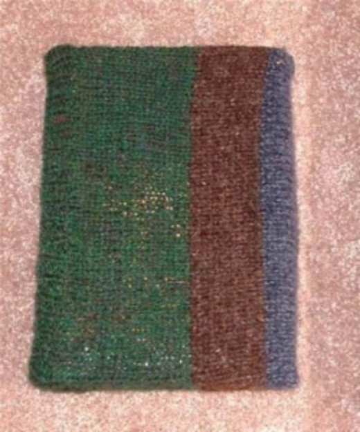 Knifty Knitter Book Cover Pattern