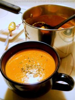 Hearty Vegan Roasted Butternut Soup