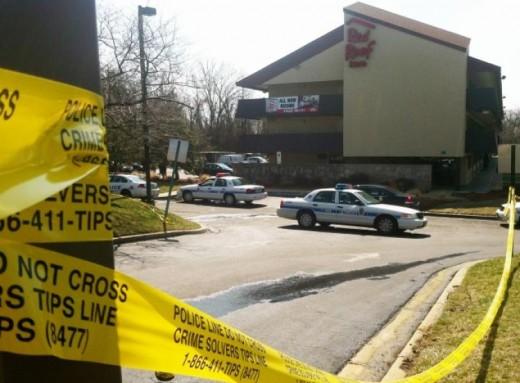 Police find Andrea Tatum deceased inside room 132 at Red Roof Inn.