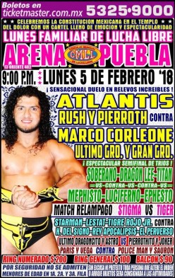 CMLL Puebla: A Showcase of...Something