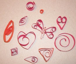 Some Of My Quilling Shapes! ;)