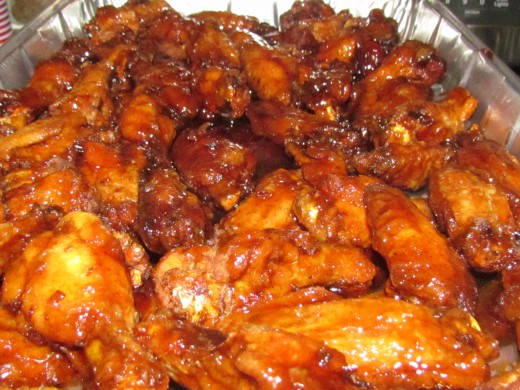 Carmine's Wings, are so inticing with their lightly breaded spices, covered by Chipotle BBQ sauce, was also on our menu.