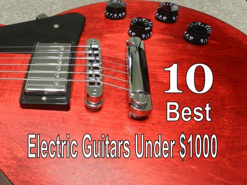 The best electric guitars for under a grand.