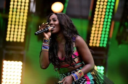 tiwa savage on stage