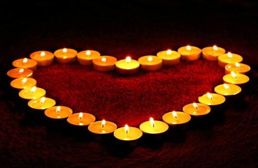 Use votive candles to make a special statement