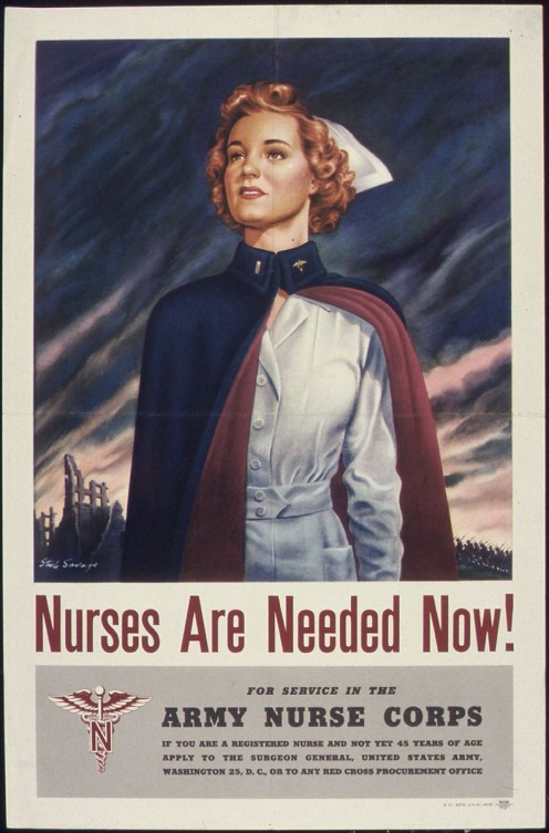 This popular poster in history reflects today's need for nurses as well.