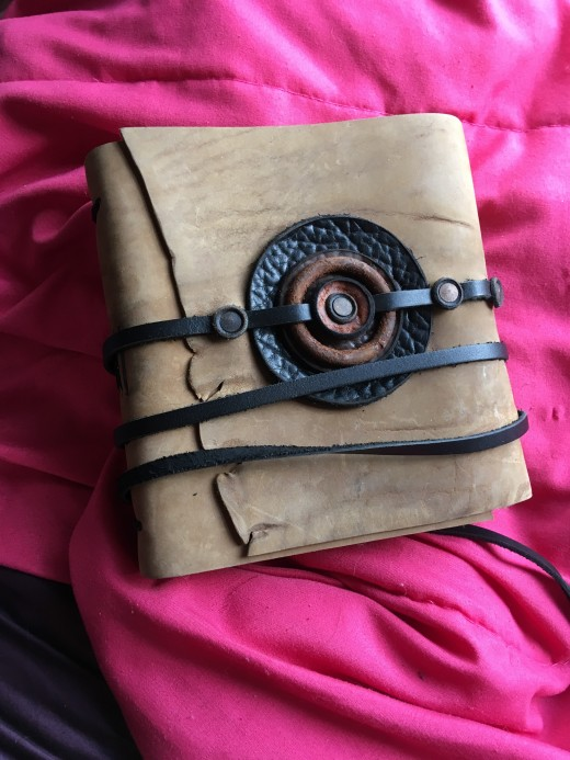 This is the Journal now proudly owned by my daughter, Maggie