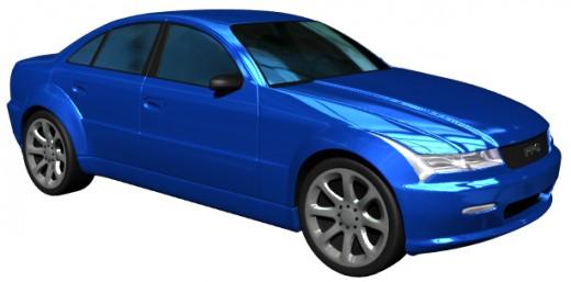 Do you drive a blue car?