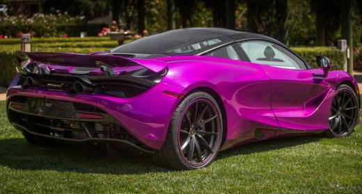 Do you drive a purple car?