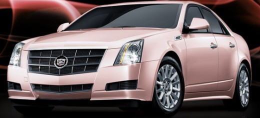 Do you drive a pink car?