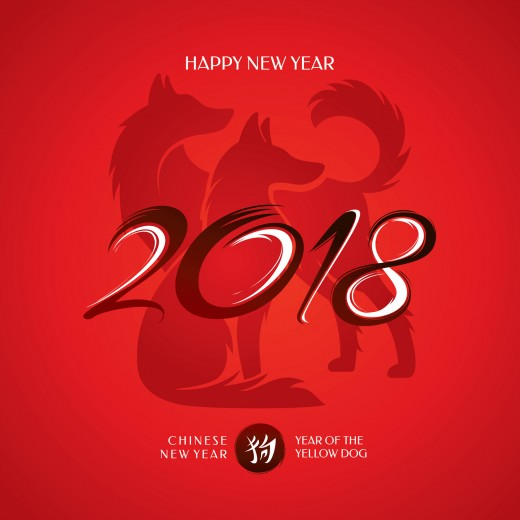February 16, 2018 marks the start of the Year Of The Dog in the Chinese Lunar Calendar.