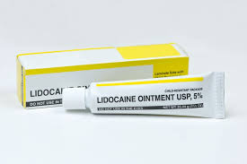 Application of the cream formulation of lidocaine is not generally recommended.  The FDA has only approved the dermal patch formulation of this medication.