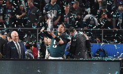 Eagles defeat the Patriots 41-33. Nick Foles earns MVP honors.
