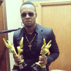 Flavour holding three awards