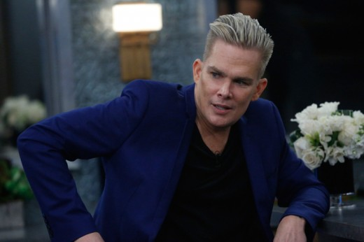 Mark McGrath in the Celebrity Big Brother House