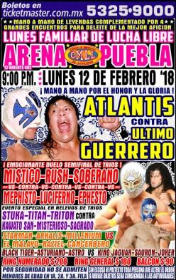 CMLL Puebla: Atlantis-UG Five...THOUSAND!