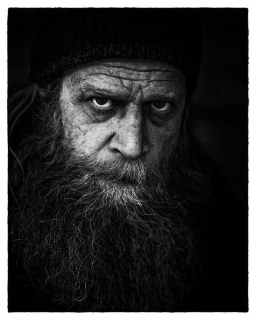 Angry Man with a Beard