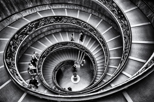 Spiral Staircase in the Vatican