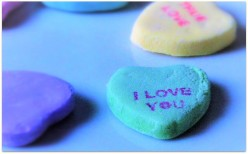 Messages of Love from  Valentine's Day Candy