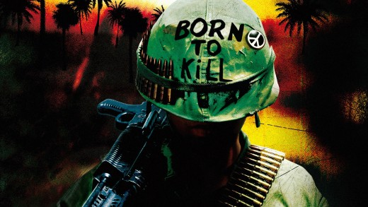 "(cc image, ""Born to Kill"" poster from Full Metal Jacket movie, 1987) - Ever Since the Vietnam War Call of Duty Fans Have Been Asking for a Fully Honoured Vietnam War Title - Black Ops Simply Wasn't Committed Enough"