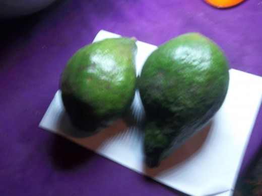 Avocado pear promotes muscle health