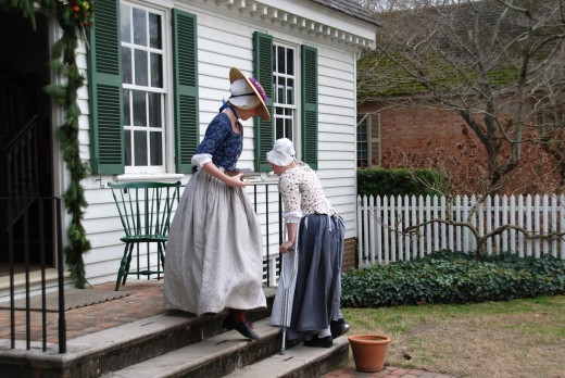 If you lived a past life in colonial times, take a trip to colonial Williamsburg!!! You won't be disappointed.