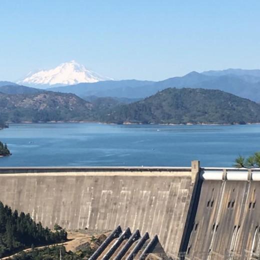 Shasta Dam, Shasta Lake, & Mt Shasta