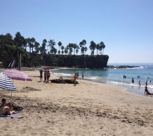 Crescent Bay in Laguna Beach