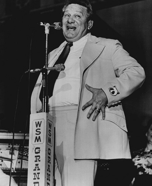 Jerry Clower in 1974.